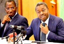 Gilbert Bawara et Faure Gnassingbe