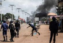 violences policières post-électorales en Guinée 21-10-2020