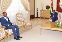 Le Chef de l'Etat s'est entretenu avec un émissaire d'Ali Bongo