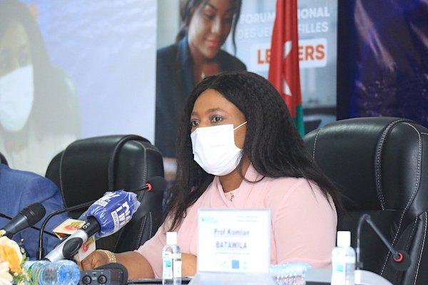 Yawa Tsègan aux jeunes filles : « Rien ne vous sera donné sur un plateau d'or »