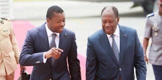 Le Chef de l'Etat félicite ses pairs de la Côte d'Ivoire et de la Guinée pour leur réélection