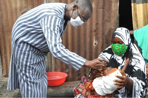 715 000 enfants vaccinés cette semaine contre la polio