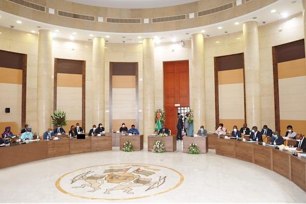3ème conseil des ministres, largement consacré au budget 2021