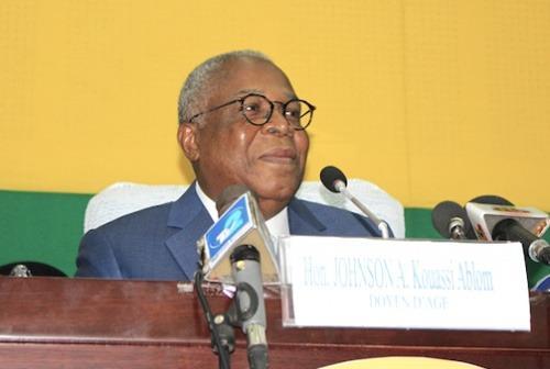 Décès du vice-président de l'Assemblée nationale, André Johnson