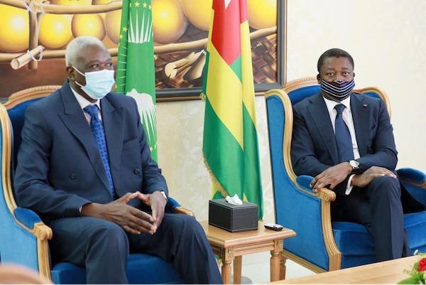 Le Président de la Transition au Mali en visite au Togo