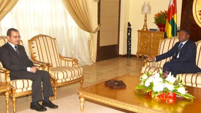 L'ambassadeur d'Egypte en fin de mission