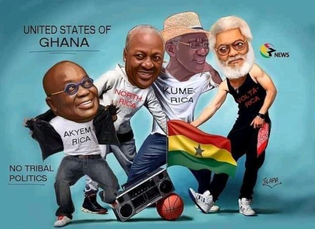 les anciens et actuel presidents du ghana