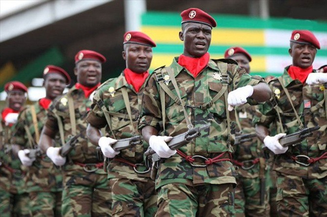 Le Togo adopte sa loi de programmation militaire