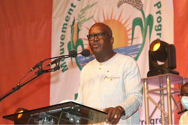 Le Chef de l'Etat félicite Roch Christian Kaboré pour sa réélection