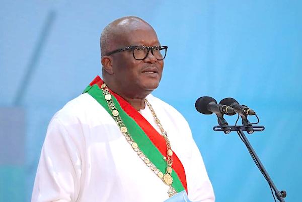 Le Chef de l'Etat a pris part à l'investiture de Roch Kaboré