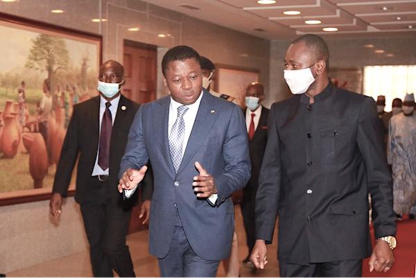 Le vice-président de la transition malienne en visite de travail à Lomé