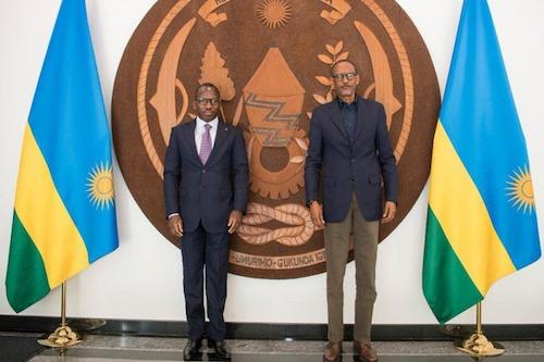 Le Chef de l'Etat a transmis un message à son homologue rwandais
