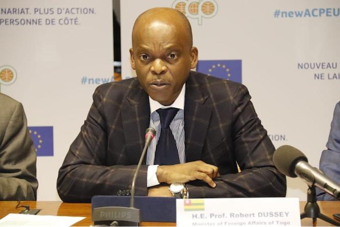 Accord post-Cotonou : « l'Afrique sort gagnante », estime Robert Dussey