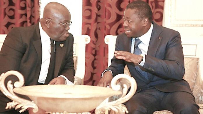 Le Chef de l'Etat félicite Nana Akufo-Addo pour sa réélection