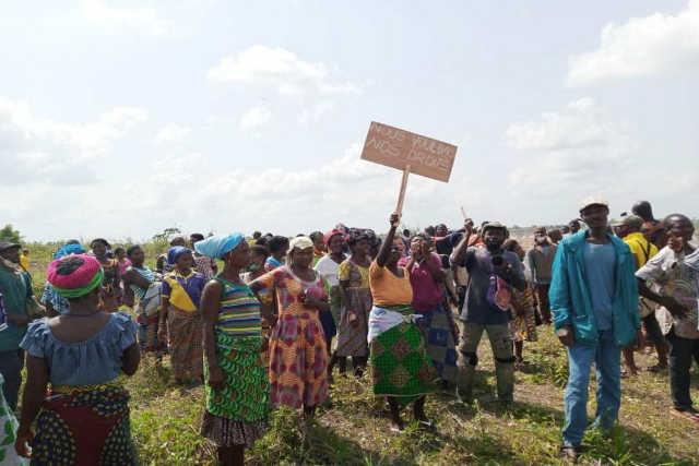 manif population de sika-kondi