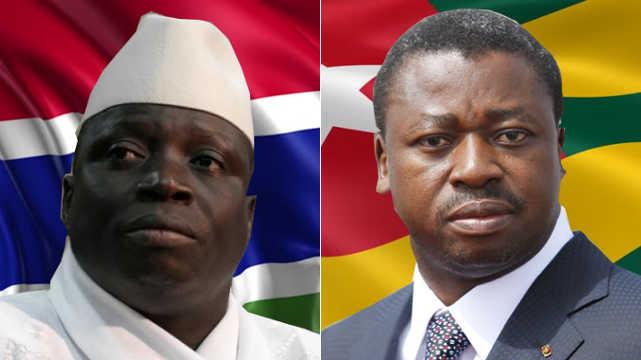 Yahya Jammeh vs Faure Gnassingbe