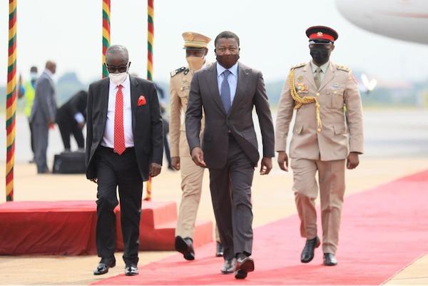Le Chef de l'Etat a assisté à l'investiture de Nana Akufo Addo