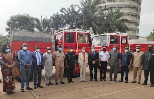 Les sapeurs-pompiers bénéficient d'un nouvel appui de la France