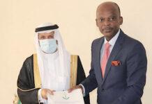 L'Arabie Saoudite a un nouvel ambassadeur au Togo