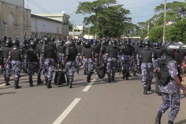 policiers togolais