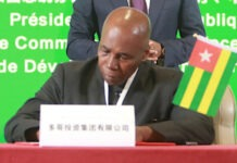 DG de Togo Invest Corporation Samuel-Ekué Mivedor