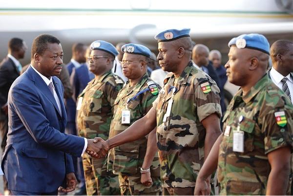 Minusma : le Chef de l'Etat exprime de nouveau son soutien aux forces engagées