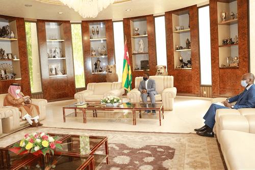 41764 le ministre saoudien dlgu aux affaires africaines en visite de travail au togo copy