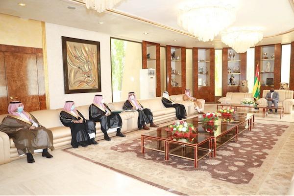 Le ministre saoudien délégué aux affaires africaines en visite de travail au Togo