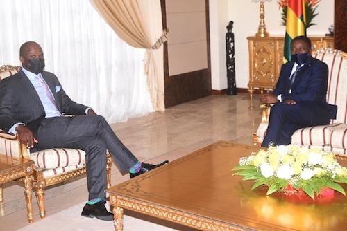 Le Chef de l'Etat s'est entretenu avec le Secrétaire général de la Zlecaf