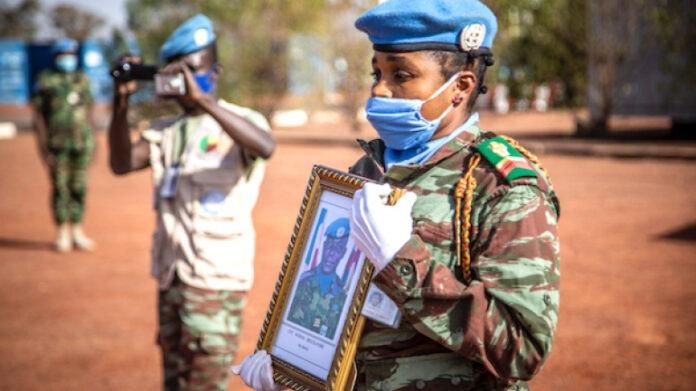 La Minusma rend hommage au casque bleu togolais décédé lors de l'attaque de Kerena