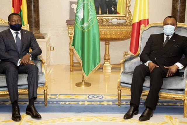 Denis Sassou Nguesso et Faure Gnassingbe