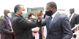 Le Chef de l'Etat en visite de travail au Congo Brazzaville