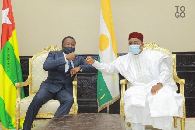 Faure Gnassingbé et Mahamadou Issoufou a niamey niger
