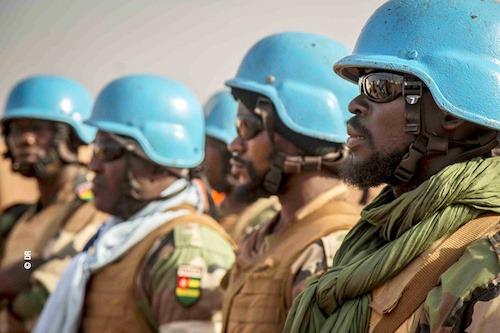Des casques bleus togolais de la MINUSMA victimes d'une attaque kamikaze