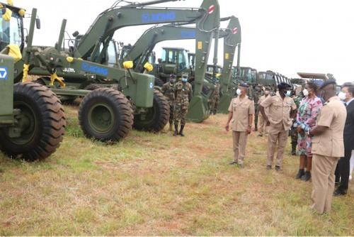 Les Forces Armées togolaises bénéficient d'un appui matériel de la Chine
