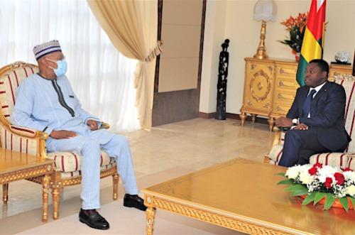 Mohamed Ibn Chambas salue la contribution du Togo à la paix et la sécurité régionale