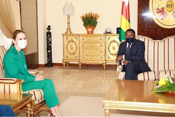 Neuf nouveaux ambassadeurs accrédités au Togo