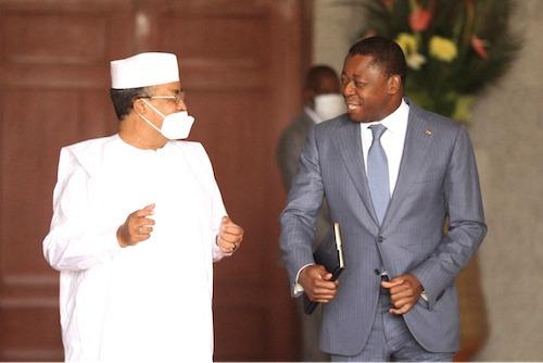 Réunion du GST-Mali : le Chef de l'Etat a reçu le représentant spécial de l'ONU pour le Mali