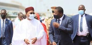 Le Président du Niger en visite d'amitié au Togo