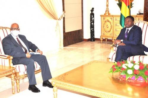 Le Chef de l'Etat a reçu le ministre malien des affaires étrangères
