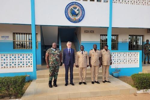 Le professionnalisme des casques bleus togolais, de nouveau salué