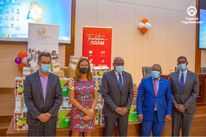 Education/Santé : Axian et Togocom s'engagent aux côtés du Gouvernement