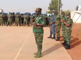 Les autorités militaires au chevet des casques bleus togolais de la Minusma