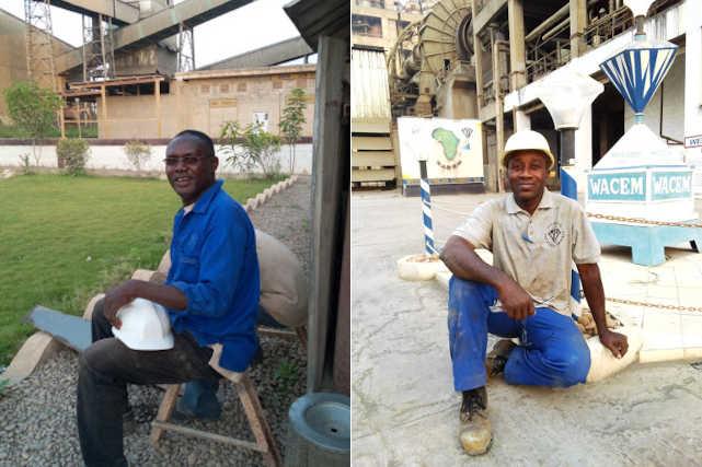 ouvriers de wacem tabligbo togo