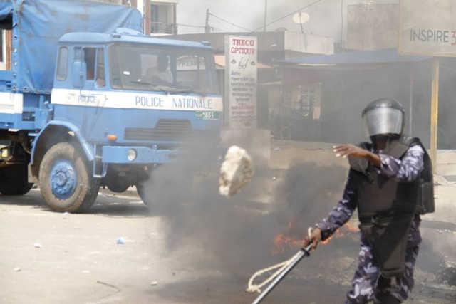 repression manifestants togo