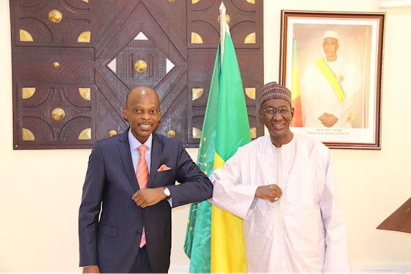 Visite du ministre des Affaires étrangères au Mali