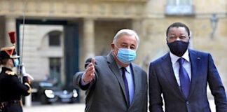 A Paris, le Chef de l'Etat s'est entretenu avec le Président du Sénat français