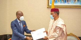 Visite de travail du ministre des affaires étrangères au Niger