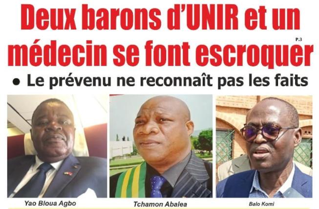 barons rpt-unir escroques postes de ministre
