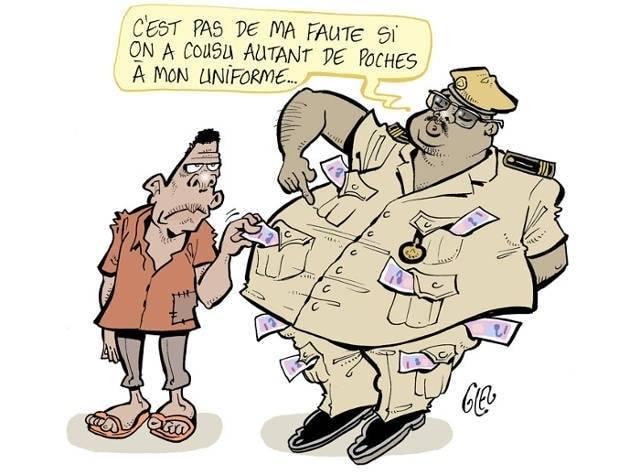 corruption illustree